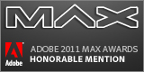 Adobe Max Honorable Mention